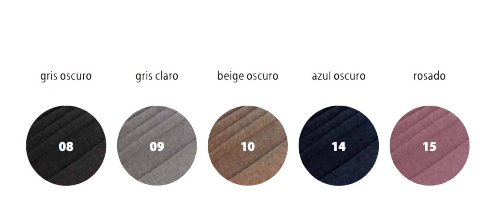 colores disponibles para gorros de quimioterapia tejidos algodon