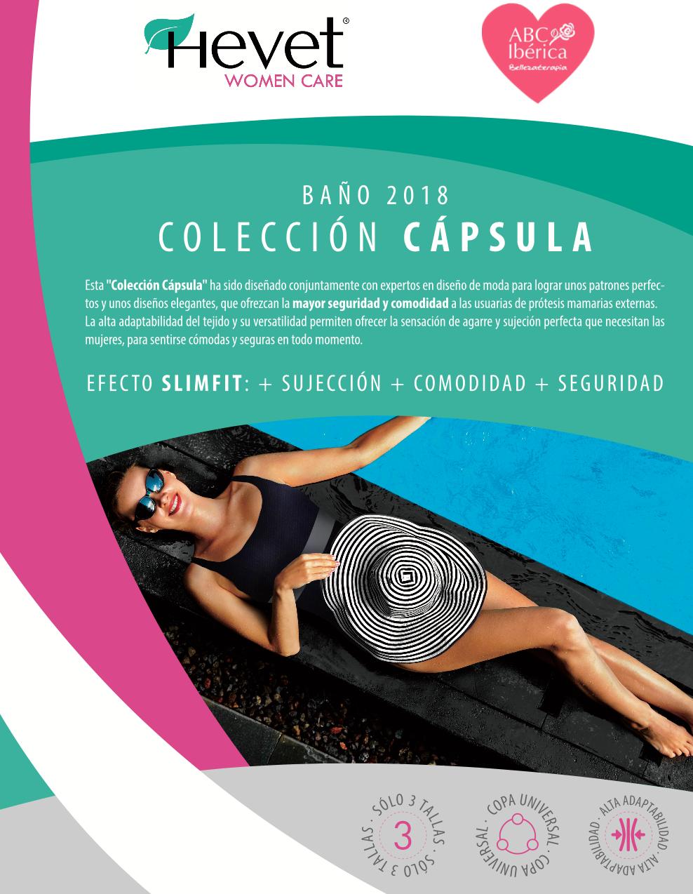 Catálogo de Bañadores de ABC para mastectomizadas